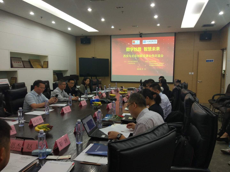 西安高新区与北京创新资源第二次交流活动成功举办